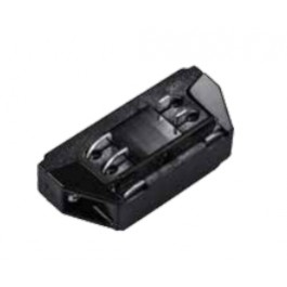 4L Track Light Connector Black Mini