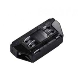 4L Track Light Connector Black Mini
