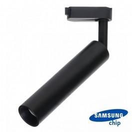20W LED Tracklight SAMSUNG CHIP Black Body Warm White