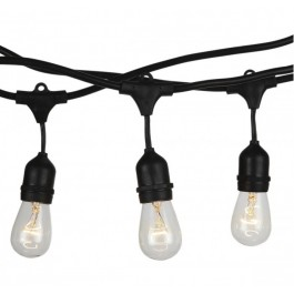 LED String Light With Euro Plug And WP Socket  5 Meter 10 Bulbs