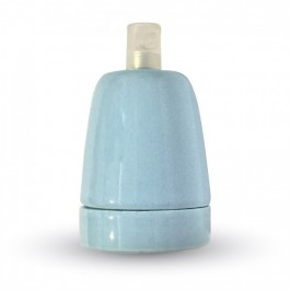Porcelan Lamp Holder Fitting Blue
