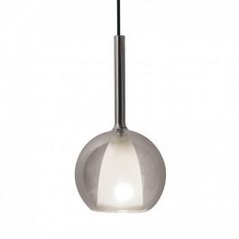 Pendant Light Modern Double Glass Gungrey+White Ф180mm