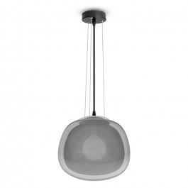 Pendant Light Modern Glass Grey 3 Wire Suspension Ф300mm