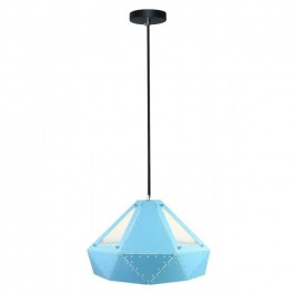 Pendant Light Pastel Prism Blue 310 x 180 mm