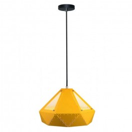 Pendant Light Pastel Prism Yellow 310 x 180 mm