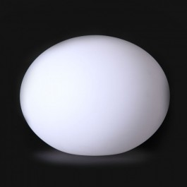 LED Oval Ball Light RGB 20*14CM
