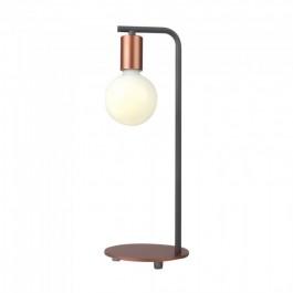 Designer Table Lamp E27 Holder Switch Red Bronzе