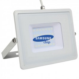 30W LED Floodlight SMD SAMSUNG CHIP White Body Natural White