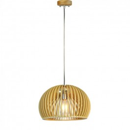 Wooden Pendant Light Big Round  D330 x H220mm