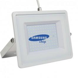 300W LED Floodlight SMD SAMSUNG CHIP White Body 6400K