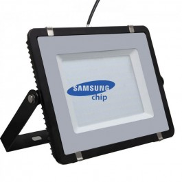 200W LED Floodlight SMD SAMSUNG CHIP Black Body Natural White