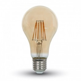 LED Bulb - 4W E27 Filament Amber Cover Warm White