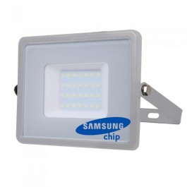 30W LED Floodlight SMD SAMSUNG CHIP Gray Body 6400K