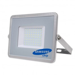 50W LED Floodlight SMD SAMSUNG CHIP Grey Body 6400K