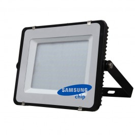 150W LED Floodlight SMD SAMSUNG CHIP Black Body 6400K