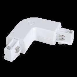 4L Track Light Connector White