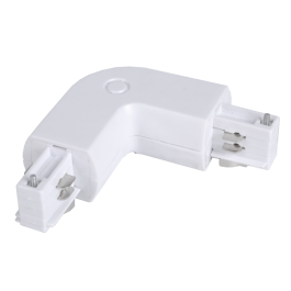 4T Track Light Connector White