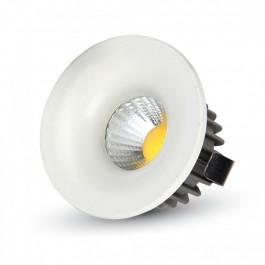 3W LED Downlight Round - White Body, White