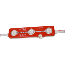 LED Module 3SMD Chips SMD 5050 IP67 Red