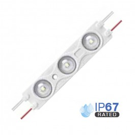 LED Module 1.5W 2835 SMD 3pcs. IP67 Red