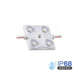 LED Module 1.44W 2835 SMD 4pcs. IP68 Blue
