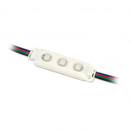 LED Module SMD 5050 RGB 3pcs. IP66