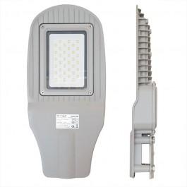 30W SMD Street Lamp Grey body Grey glass Natural White