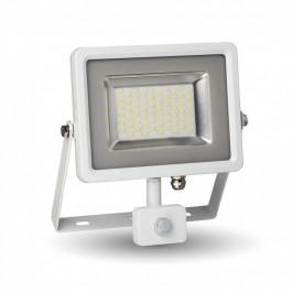 30W LED Sensor Floodlight White body SMD, White
