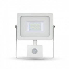 20W LED Sensor Floodlight White body SMD, Warm White
