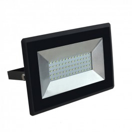 50W LED Floodlight E-Series Black Body  Natural White