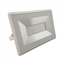 50W LED Floodlight White body SMD E-Series -  Natural White