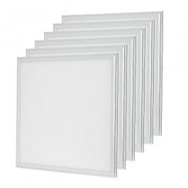 LED Panel 45W 600 x 600 mm White incl Driver 6PCS/SET
