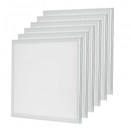 LED Panel 45W 600 x 600 mm Warm White + Driver 6PCS/SET