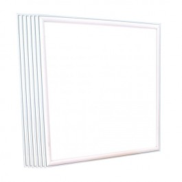 LED Panel 36W 595 x 595mm High Lumen Warm White Incl. Driver 6PCS/SET