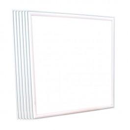 LED Panel 45W 620 x 620 mm White Incl. Driver 6 pcs