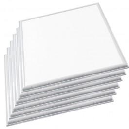 LED Panel 36W 600 x 600mm High Lumen Natural White Incl. Driver 6PCS/SET