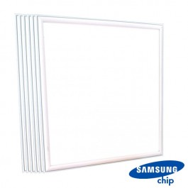 45W LED Panel SAMSUNG CHIP 600 x 600 mm 6400K 6PCS/SET 5 Years Warranty