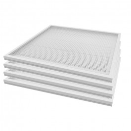 LED Panel 36W 600 x 600 mm Natural White Incl Driver 4PCS/SET