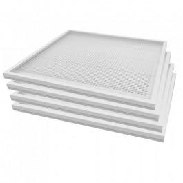 36W LED Panel Surface & Recessed White 4PCS/SET