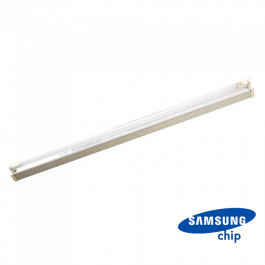 22W LED Single Battern Fitting SAMSUNG CHIP 150cm Natural White