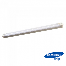 36W LED Double Batten Fitting SAMSUNG CHIP 120cm Natural White