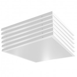 40W LED Surface/Recessed Panel 4000K 6PCS/SET