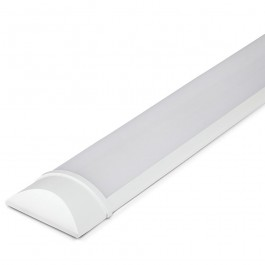 30W LED Grill Fitting 120cm Plastic 4000K 160 lm/Watt 5 Year Warranty