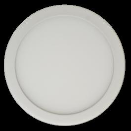 6W LED Surface Panel Premium - Round Warm White