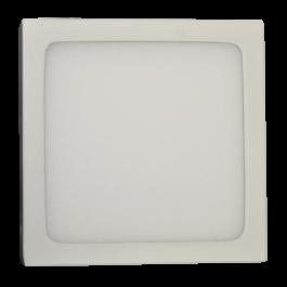6W LED Surface Panel Premium - Square Warm White