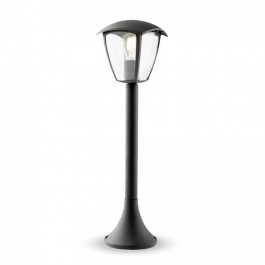 Garden Pole Lamp 600mm Rainproof Black