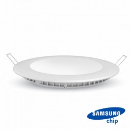 24W LED Panel Premium SAMSUNG CHIP Round 3000K