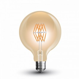 LED Bulb - 8W Filament E27 G95 Amber Warm White