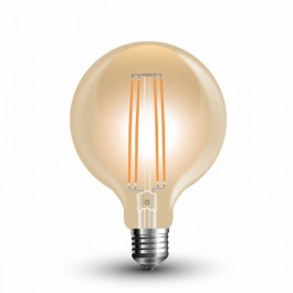 LED Bulb - 7W Vintage Special Filament E27 G95 Warm White