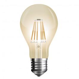 LED Bulb - 10W Filament E27 A67 Amber  Warm White